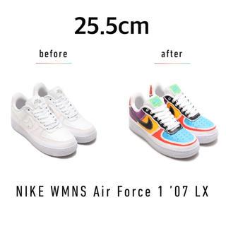 ナイキ(NIKE)のNIKE WMNS AIR FORCE 1 '07 LX 25.5(スニーカー)