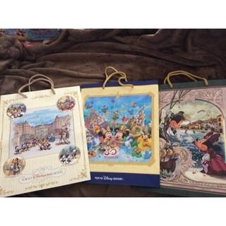 ディズニー(Disney)のディズニーホテル限定 紙袋3枚セット(ノベルティグッズ)