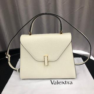 Valextra -  Valextra ヴァレクストラ ミディアム イジィデ ホワイト