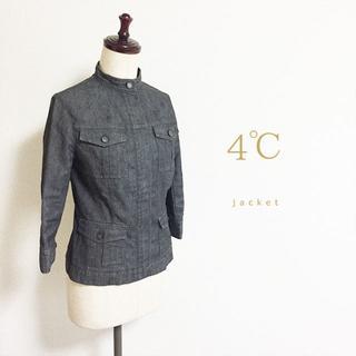 4℃ - 4℃☆7分袖デニムジャケット