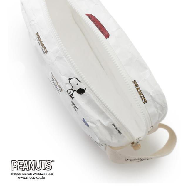 gelato pique(ジェラートピケ)のジェラートピケ  スヌーピー  ポーチ レディースのファッション小物(ポーチ)の商品写真