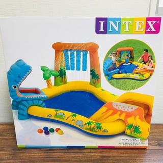 【新品】INTEX インテックス ダイナソー プレイセンター(マリン/スイミング)