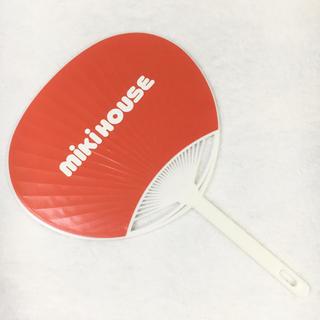 mikihouse - 未使用品 ミキハウス ミニうちわ