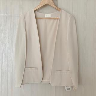 GRACE CONTINENTAL - 【新品】ダイアグラム ノーカラージャケット 羽織 グレースコンチネンタル 結婚式