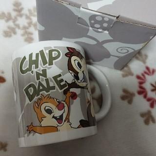 チップアンドデール(チップ&デール)の新品 ディズニーチップ&デールマグカップ(キャラクターグッズ)