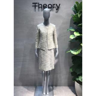 theory - 定価8万円 セオリー ワンピース ジャケット セットアップ スーツ S 2