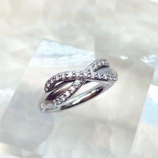 ティファニー(Tiffany & Co.)のティファニー インフィニティ ダイヤリング  AU750 (リング(指輪))