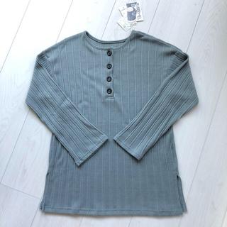 シマムラ(しまむら)のプチプラのあや♡新品テレコヘンリーチュニック(Tシャツ(長袖/七分))