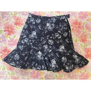アウラアイラ(AULA AILA)のAULA AILA  花柄スカート(ひざ丈スカート)