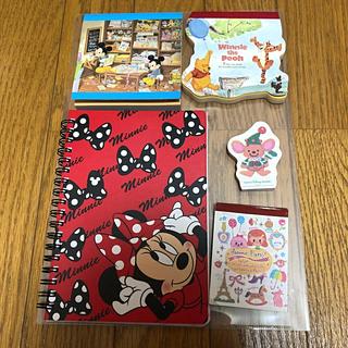 ディズニー(Disney)のディズニーメモ帳セット(ノート/メモ帳/ふせん)