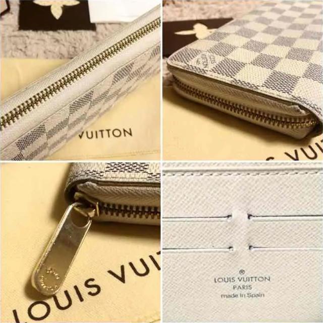 LOUIS VUITTON(ルイヴィトン)の値下げ!!LV アズール 長財布 レディースのファッション小物(財布)の商品写真