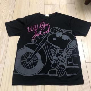 ピーナッツ(PEANUTS)のメンズTシャツ(Tシャツ/カットソー(半袖/袖なし))