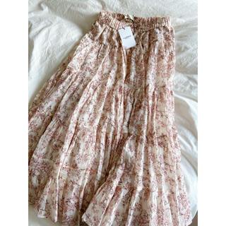 イザベルマラン(Isabel Marant)の値下げ‼️新品イザベルマランエトワール今季新作総柄スカート(ロングスカート)