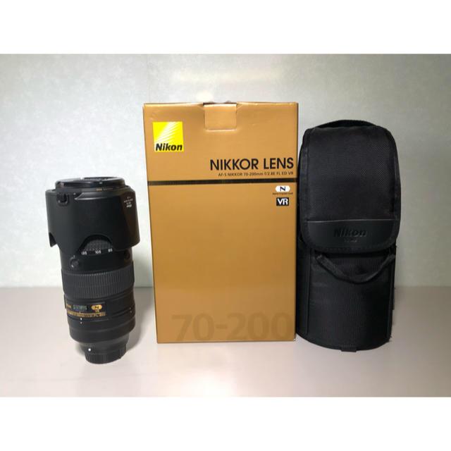Nikon(ニコン)の【値下中】AF-S NIKKOR 70-200mm f2.8E FL ED VR スマホ/家電/カメラのカメラ(レンズ(ズーム))の商品写真