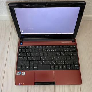エイサー(Acer)のacer  Windowsノートパソコン AspireOne(ノートPC)