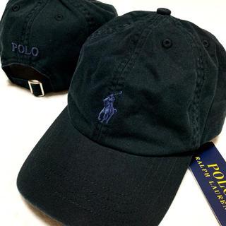 POLO RALPH LAUREN - 53㎝ / 4-7 / ブラック 新品 クラシック スポーツ キャップ