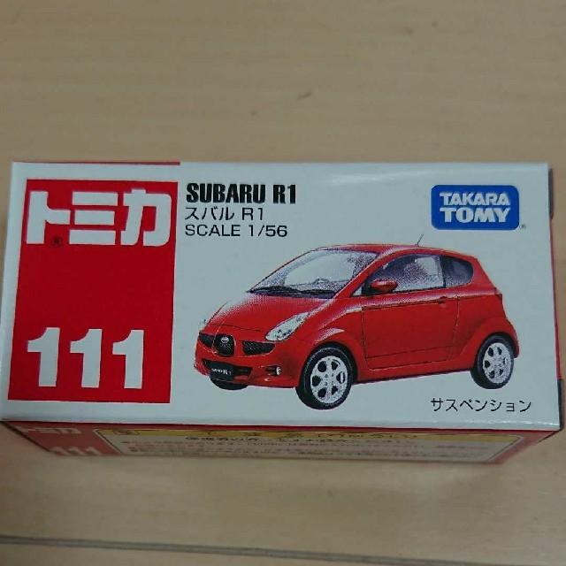 Takara Tomy(タカラトミー)のトミカ スバル R1 エンタメ/ホビーのおもちゃ/ぬいぐるみ(ミニカー)の商品写真