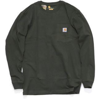 カーハート(carhartt)のカーハート ロンT ポケットTシャツ 長袖 大きいサイズUSAモデル(Tシャツ/カットソー(七分/長袖))