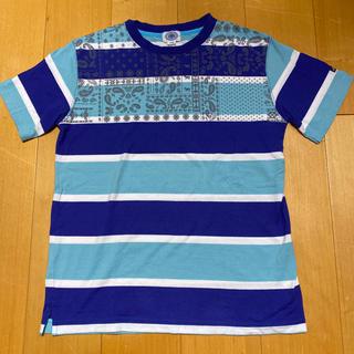 J.PRESS - ジェープレス Tシャツ 170サイズ ボーダー ペイズリー柄