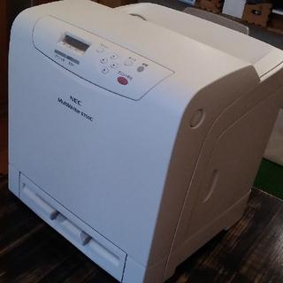 エヌイーシー(NEC)の中古カラーレーザープリンタ NEC MultiWriter 5850C (OA機器)
