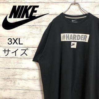 ナイキ(NIKE)の【激レア】ナイキNIKE☆ビッグロゴ ビッグサイズ3XL ブラック 半袖Tシャツ(Tシャツ/カットソー(半袖/袖なし))