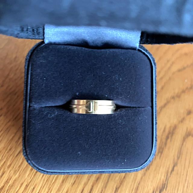 Tiffany & Co.(ティファニー)のTiffany Tワイドリング レディースのアクセサリー(リング(指輪))の商品写真