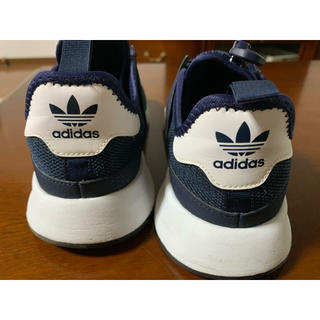 adidas - adidas スニーカー 24センチ 紺色