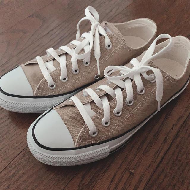 CONVERSE(コンバース)のCONVERSE スニーカー ベージュ レディースの靴/シューズ(スニーカー)の商品写真