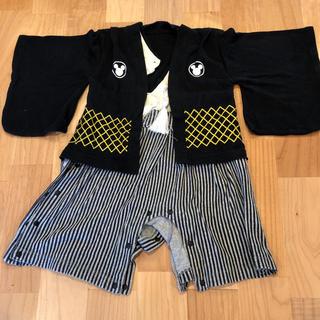 ディズニー(Disney)の袴ロンパース  ミッキー 70(和服/着物)