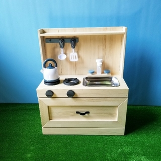 木製おままごとキッチン(おもちゃ/雑貨)