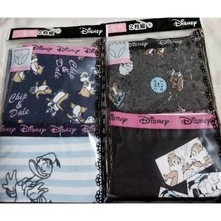 ディズニー(Disney)のドナルド&チップとデール Mサイズ レディース ショーツパンツ 4枚 ディズニー(ショーツ)