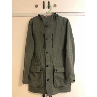 ザラ(ZARA)のZara ザラ 迷彩 ロング コート ジャケット メンズ S ニット ブルゾン(ブルゾン)