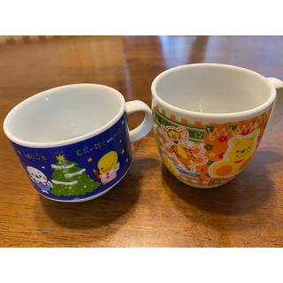 クマノプーサン(くまのプーさん)のプーさんゴマちゃんマグカップセット(グラス/カップ)