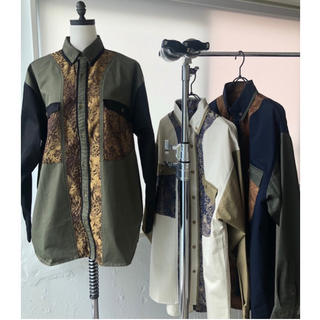 SeaRoomlynn - juemi  Jacquard Mix Mill Shirt JK