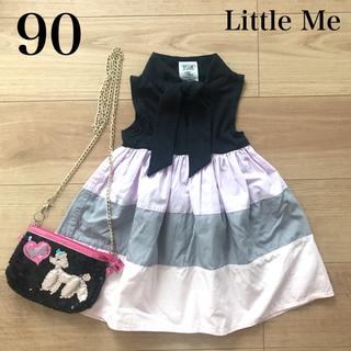 Little Me - 美品Little Me ワンピース サイズ90