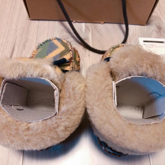 UGG(アグ)のugg ムートンブーツ/11cm/新品/ペンドルトン キッズ/ベビー/マタニティのベビー靴/シューズ(~14cm)(ブーツ)の商品写真