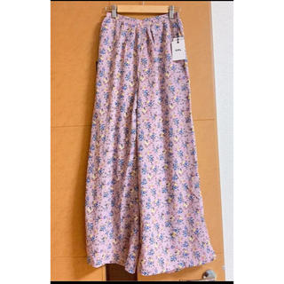 GRL - 完売品 GRL  花柄 ロングスカート 風 ワイドパンツ ガウチョ