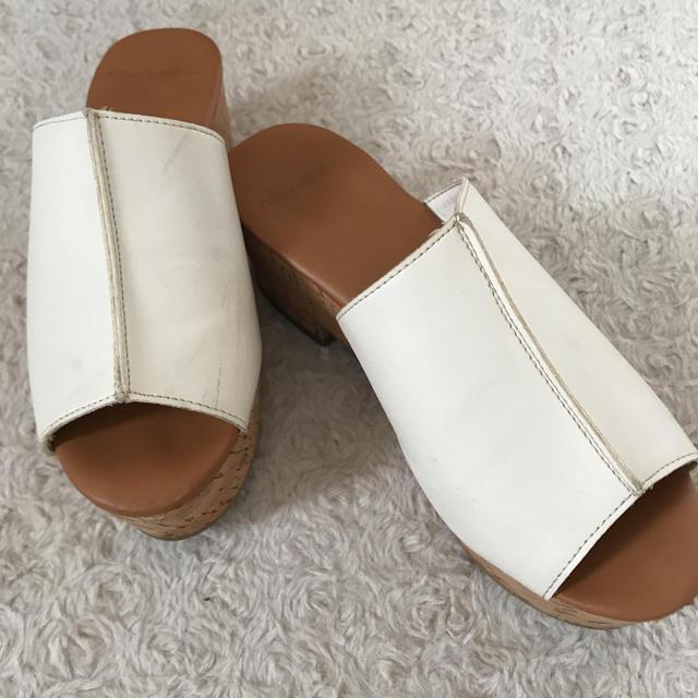 niko and...(ニコアンド)のniko and...白サンダル❣️ レディースの靴/シューズ(サンダル)の商品写真