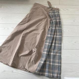 GRL - 【送料込】切替スカート/チェック柄