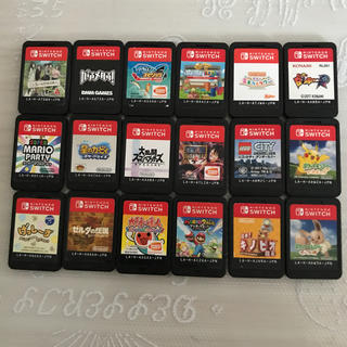 Nintendo Switch - Switch スイッチ ソフト まとめ売り18枚