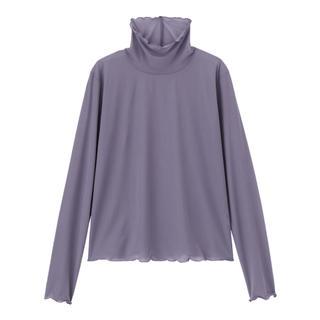 ジーユー(GU)のGU シアーインナーT(長袖)Q(Tシャツ(長袖/七分))