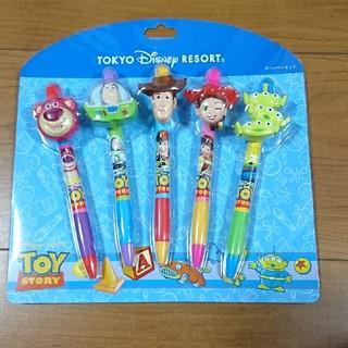 Disney - 新品未使用品 ディズニー トイストーリーボールペン 5本セット