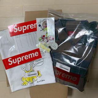 シュプリーム(Supreme)のSupreme Daniel Johnston Shirt & Tee セット(シャツ)