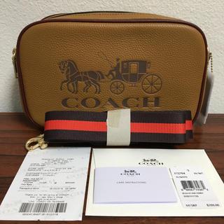 COACH - ブラウン クロスボディ❤️コーチ 新品・未使用 ショルダーバッグ