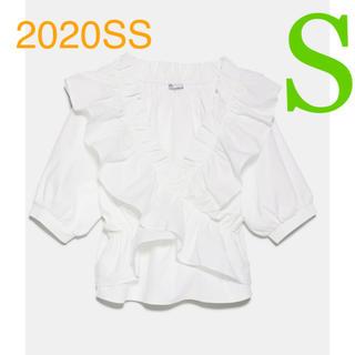 ZARA - *2020SS*ZARA フリルトップス