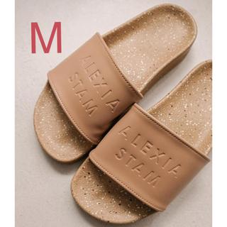 ALEXIA STAM - ALEXIASTAM Hand Painted Sandals Beige M