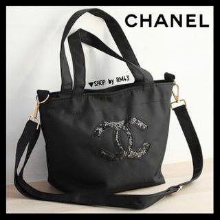 CHANEL - 【CHANEL】スパンコールトートバッグ
