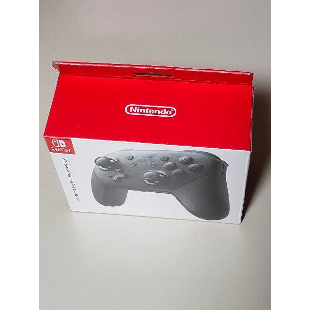 新品未開封 純正 Nintendo Switch Proコントローラー エンタメ/ホビーのゲームソフト/ゲーム機本体(その他)の商品写真