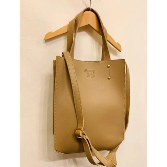 ひつじ2way bag レディースのバッグ(トートバッグ)の商品写真