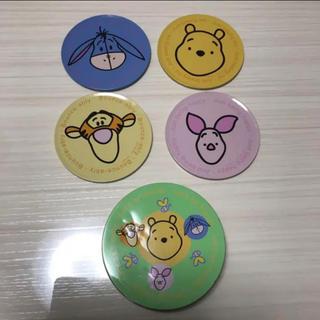 ディズニー(Disney)のディズニー 缶コースター 4枚セット(テーブル用品)